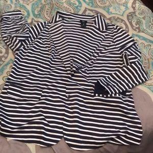 Striped Mossimo blazer